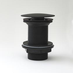 Ablauf mit Pop-Up Stöpsel, für Waschtisch ohne Überlauf – Schwarz – Nox