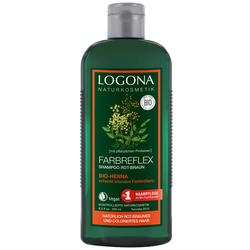 LOGONA Farbreflex Shampoo Rot-Braun Bio-Henna 250 ml