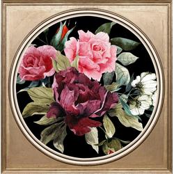 queence Acrylglasbild Bunter Blumenstrauß II