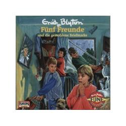 Fünf Freunde - 035/und die gestohlene Briefmarke (CD)