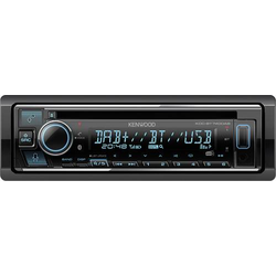 Kenwood KDC-BT740DAB Autoradio inkl. DAB-Antenne, DAB+ Tuner