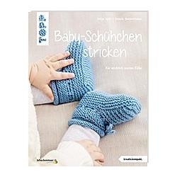 Baby-Schühchen stricken. Helga Spitz  Renate Demmelhuber  - Buch