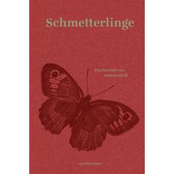 Schmetterlinge als Buch von Andrea Grill