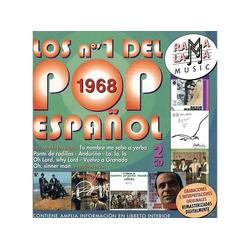 VARIOUS - Los N.1 Pop Espanol 1968 (CD)