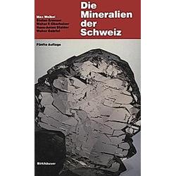 Die Mineralien der Schweiz - Buch