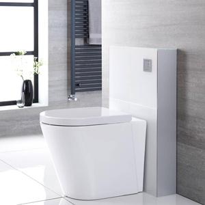 Hudson Reed Saru Sanitärmodul H 822mm Weiß für Stand-WC mit Spülkasten
