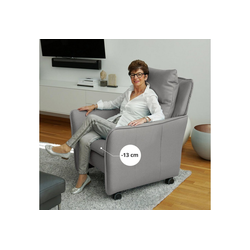PLACE TO BE. Relaxsessel, Relaxsessel Insideout Wheels small - 13 cm schmaler grau