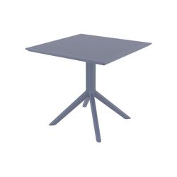 CLP Tisch Sky 80 cm dunkelgrau