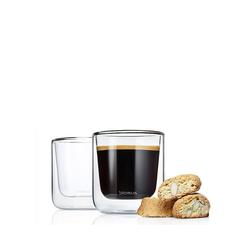 BLOMUS Glas Kaffee Thermo- Gläser, 2er Set