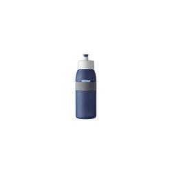 Mepal Trinkflasche Trinkflasche Sporttrinkfasche Ellipse, Trinkflasche blau