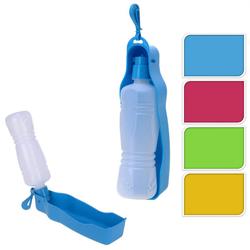 Trinkflasche für Hunde - mobiler Wasserspender für den Hund - 450ml