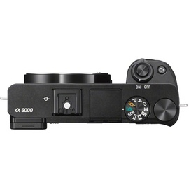 Sony Alpha 6000 Body schwarz
