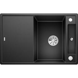 Blanco Granitspüle AXIA III 45 S, rechteckig, aus SILGRANIT® schwarz