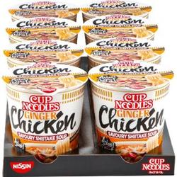 Nissin Cup Noodles Huhn 63 g, 8er Pack
