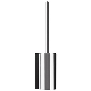 Hewi System 162 WC-Bürstengarnitur Ø 89 H: 440 T: 106 mm chrom/schwarz 162.20.10040
