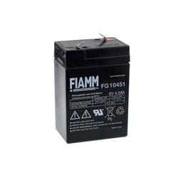 FIAMM Ersatzakku für Lampe Johnlite Staubsauger Johnlite Staubsauger Halogen Lampe 6V 4 5Ah, 6V, Lead-Acid