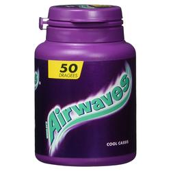 Wrigley's Airwaves Cool Cassis Dose 50 zuckerfreie Kaugummi-Dragees