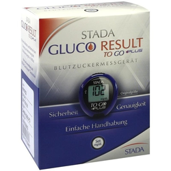 STADA Gluco Result To Go Plus BZ Messgerät mg/dl