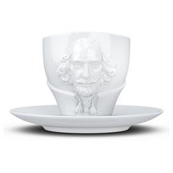 FIFTYEIGHT PRODUCTS Tasse TV Tassen Talent William Shakespeare 260 ml