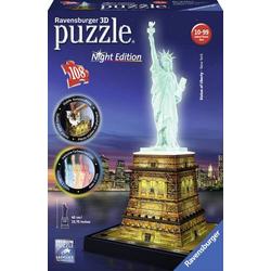 Ravensburger 3D Puzzle Freiheitsstatue bei Nacht