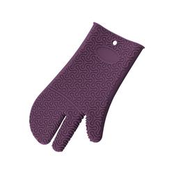 Kochblume Topfhandschuhe Silikon Handschuh, Hitzebeständig bis 230° lila