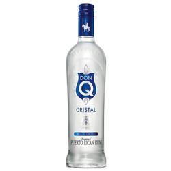 Don Q Cristal Rum 1,0L (40% Vol.)