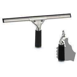 Profi Fensterwischer / Fensterabzieher, komplett schwarz 35 cm