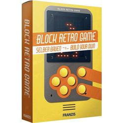 Franzis Verlag Block Retro Game selber bauen 67049 Retro-Videospiel ab 14 Jahre