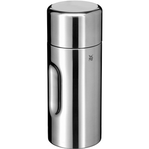 WMF Motion Isolierkanne 0,5l, Cromargan Edelstahl, für Tee oder Kaffee, Thermosflasche mit Trinkbecher, hält 24h kalt & 12h warm