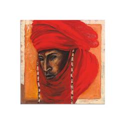 Artland Wandbild Beduine, Mann (1 Stück) 30 cm x 30 cm