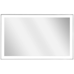 Vasner Infrarotheizung Zipris S LED 700, 700 W, Spiegelheizung mit Chrom-Rahmen und Licht