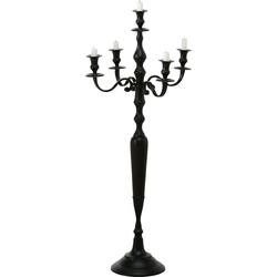 BOLTZE Kerzenständer Victoria schwarz Kerzenhalter Kerzen Laternen Wohnaccessoires