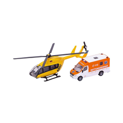 Siku Spielzeug-Auto SIKU 1850 Rettungsdienst-Set 1:87