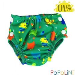 Popolini Badewindel Schwimmwindel Hippo Splash L