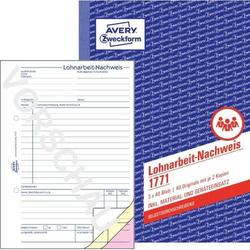 Formularbuch Lohnarbeitsnachweis A5 3x40 Blatt