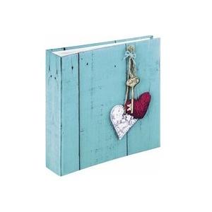 Hama Memo Rustico 22,5x22,5 200 Bilder 10x15 Love Key 2169