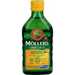 MÖLLER'S Omega-3 Zitronengeschmack Öl 250 ml