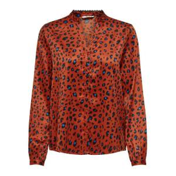 ONLY Print Hemd Damen Rot Female XS