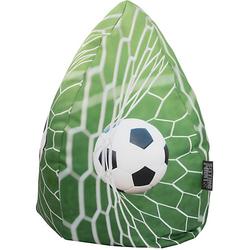 Beanbag XL, Soccer, 70 x 110 cm von MAGMA grün