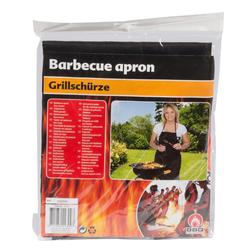 Grillschürze BBQ Collection schwarz Grillzubehör ideal fürs grillen