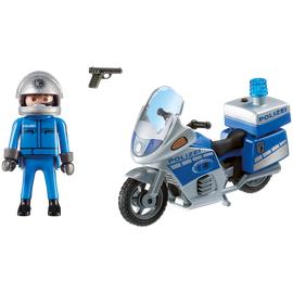 Playmobil City Action Motorradstreife mit LED-Blink (6876)