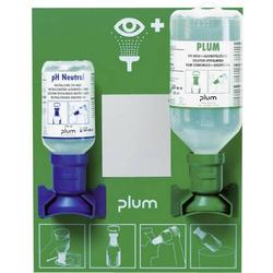 PLUM BR 318 045 Augen-Notfallstation mit 2 Flaschen 1 Set