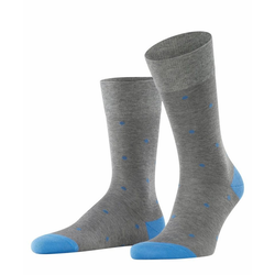 FALKE Socken Dot (1-Paar) mit hoher Farbbrillianz grau 43-46
