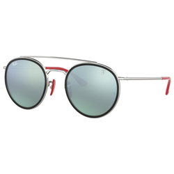 RAY BAN Sonnenbrille Ferrari RB3647M silberfarben
