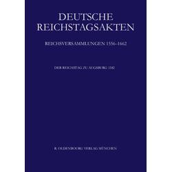 Der Reichstag zu Augsburg 1582 als Buch von