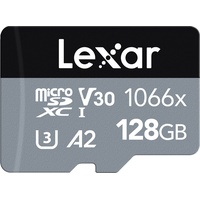 Lexar microSDXC Card 128GB High-Performance 1066x UHS-I U3