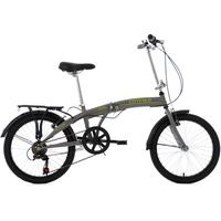 KS-CYCLING Cityfold 20 Zoll grau