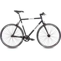 Chrisson Singlespeed FG Flat 1.0, ohne Schaltung, (1 tlg.) schwarz Fahrräder Zubehör Fahrrad