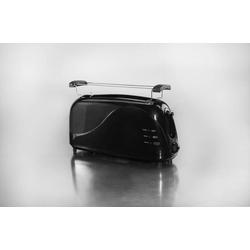 Langschlitz-Toaster schwarz