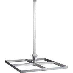 Kathrein ZAS 140 SAT-Dachhalterung Passend für Spiegelgröße: Ø < 90cm Silber